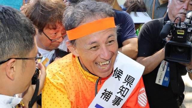 日本冲绳新任知事将访美 继续反对美海军基地搬迁