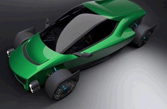 台湾公司造电动超跑,百公里加速比特斯拉快0.1秒
