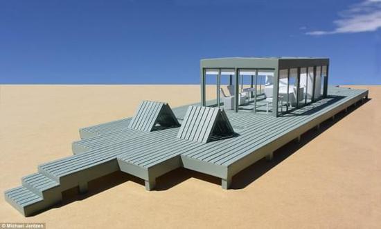 [图]海外艺术家发明变形房屋 打造专属度假空间