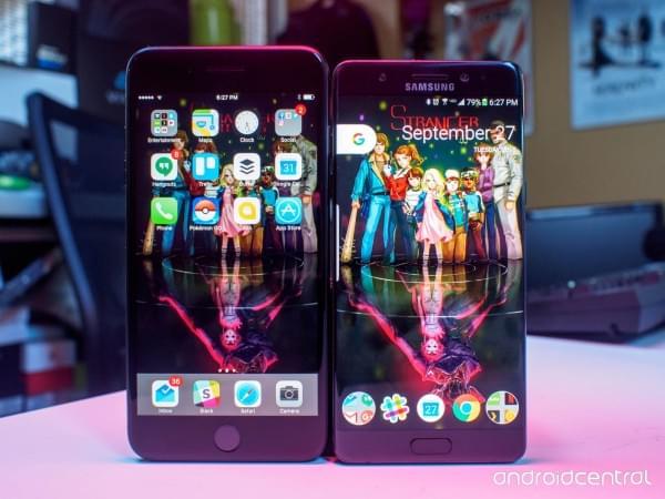 iPhone 7 Plus与三星Note 7对比评测:功能重于形式的照片 - 3