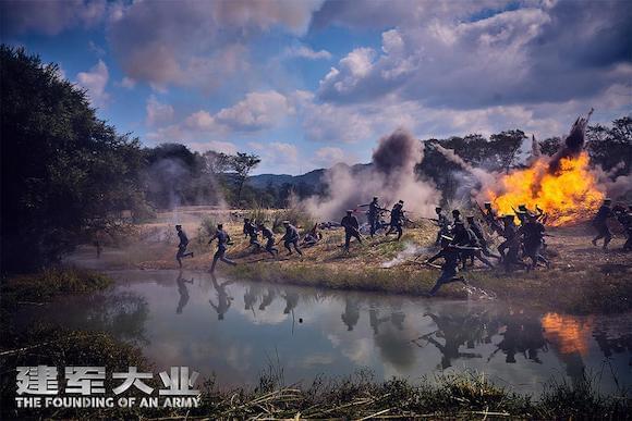 《建军大业》热血上线 解锁线上电影十月超级片单