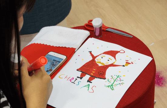 圣诞老人手绘)