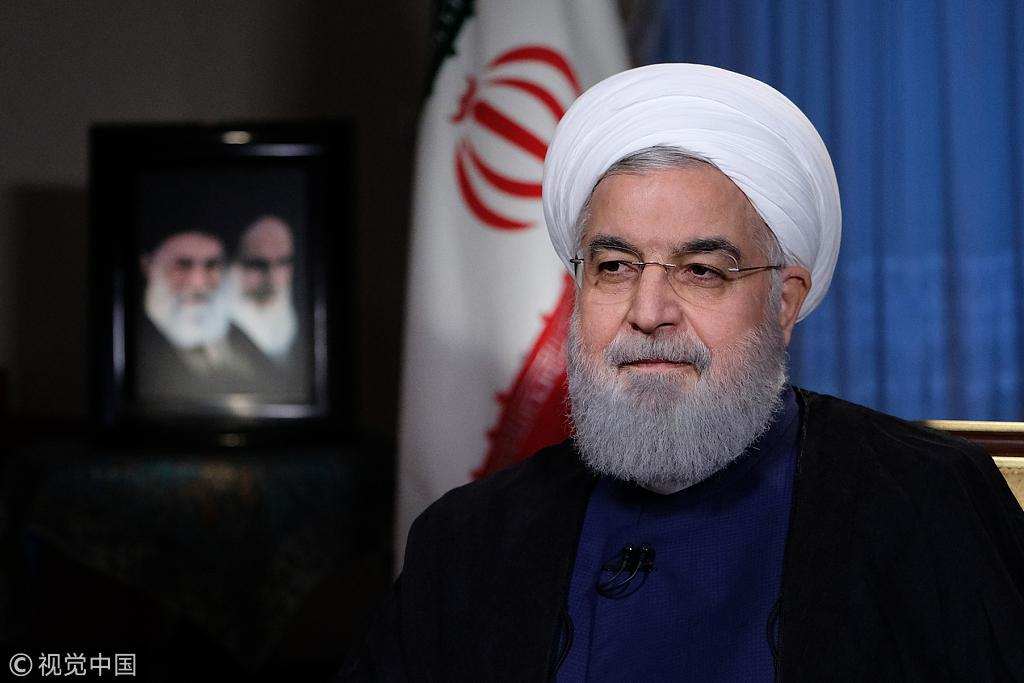 伊朗总统鲁哈尼喊话美国:制裁只会让我们更团结