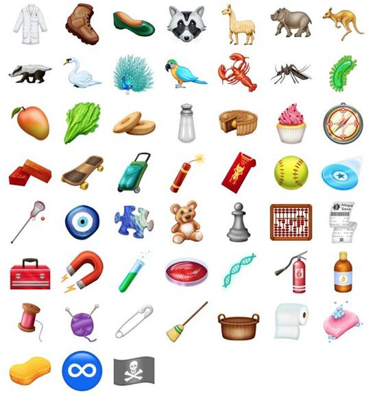 iOS 12上的新emoji曝光:多达157个表情符号