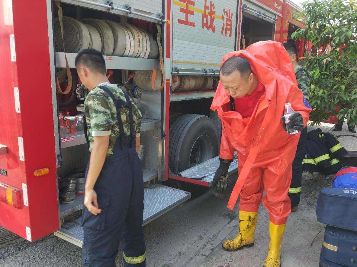 广西钦州上百吨浓硫酸泄漏 人员紧急撤离