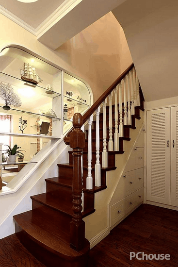 复式阁楼楼梯装修效果图
