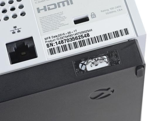 Xbox One S拆解:易于维修的照片 - 8