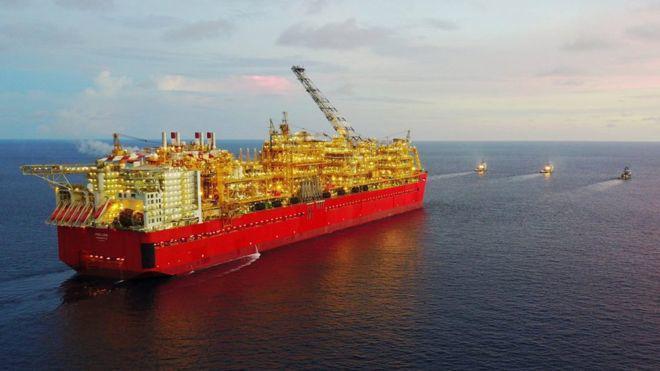"""有人打造排水量60万吨""""巨无霸"""",从海底开采天然气"""