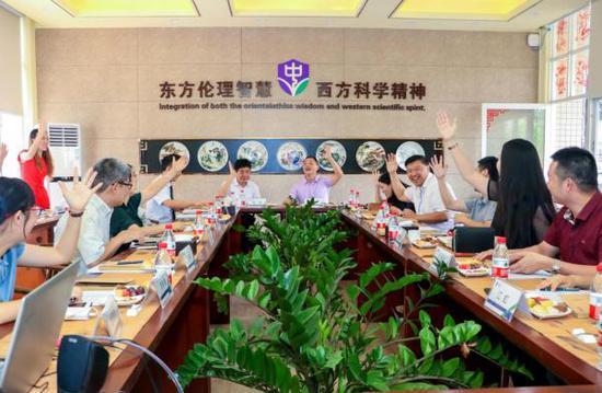 中黄(黄埔)小学家委会竞选现场。受访者供图