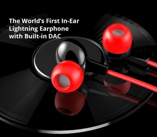 专为iPhone 7设计:全球首款内置DAC的入耳式Lightning耳机的照片 - 1