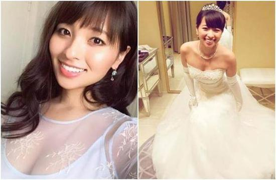 结婚一年多聚少离多 日本女星闪电结婚又离婚