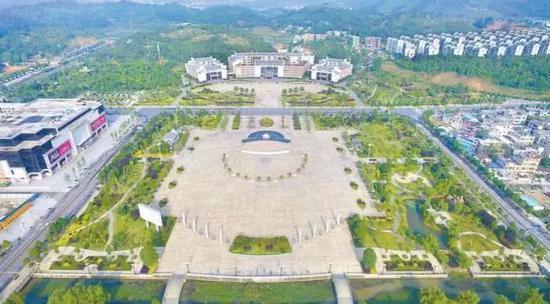 湖南省汝城县广场