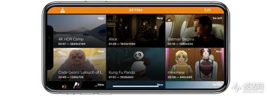 感谢VLC 3.0:你的iPhone X可以看8K电影了
