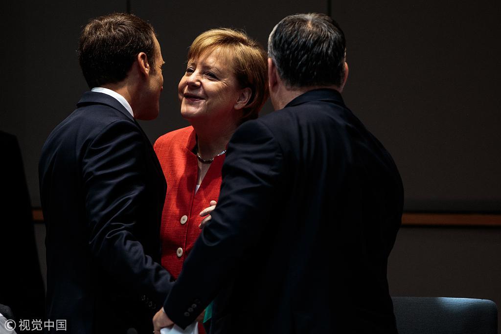 """德国同希腊西班牙达成协议 可向两国""""返还""""难民"""