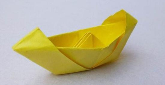 纸叠花的步骤图解