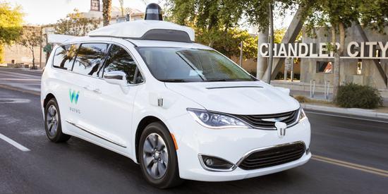 Waymo扩充无人驾驶车队新订6.2万辆电动汽车