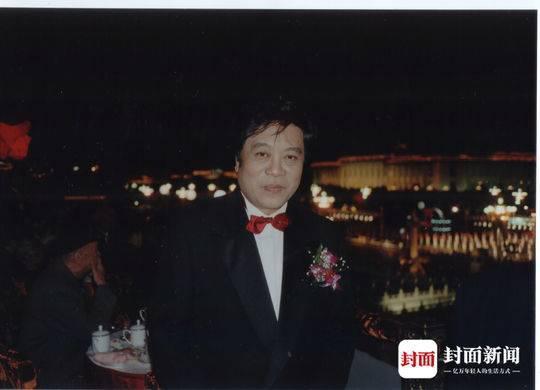 趙忠祥在天安門城樓上
