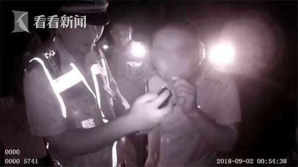 男子饮酒后被妻子逼着酒驾 一怒之下竟报警抓自己