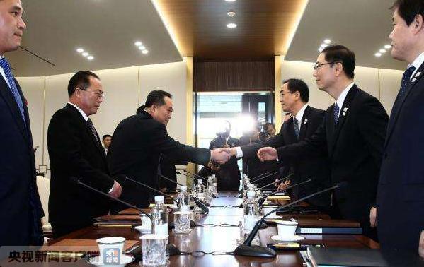 朝中社发布《北南高级别会谈联合新闻公报》