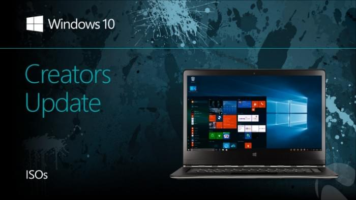 微软官方 Win10创意者更新 Build 15063 ISO镜像下载