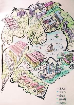 (原标题:生态城有了手绘地图(图))                   本文来源:天津