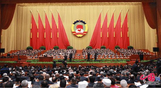 3月3日,中国人民政治协商会议第十二届全国委员会第五次会议在北京人民大会堂开幕。  沈湜摄影