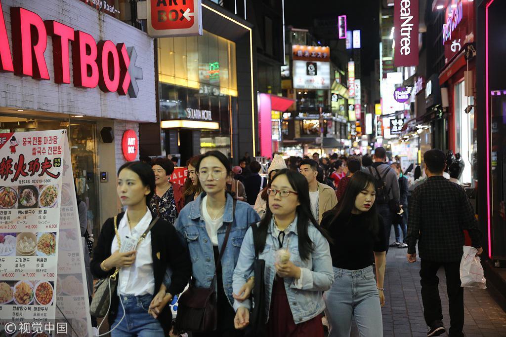 韩国乐天瞄准中国游客 免税店销售额或达历史最高