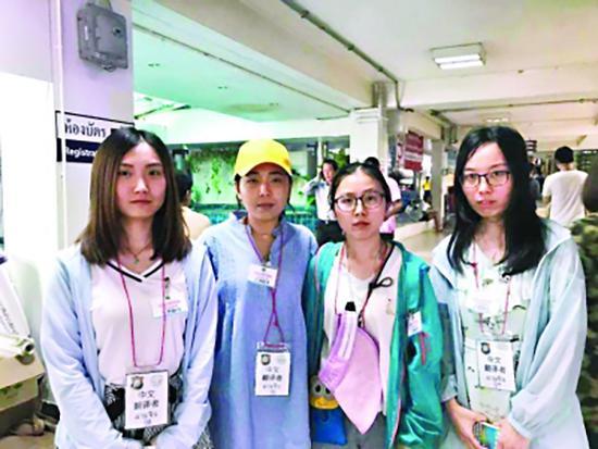 中国医学生放弃旅游到普吉医院做志愿者 网友点赞