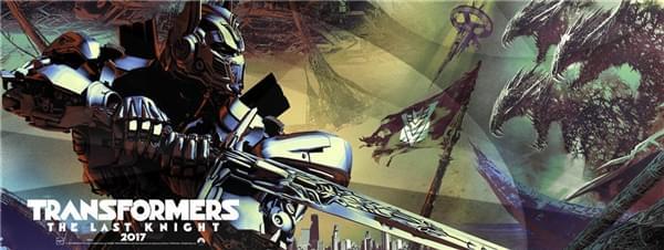 《变形金刚5》正式版海报发布:擎天柱持剑怒对大黄蜂残肢的照片 - 2
