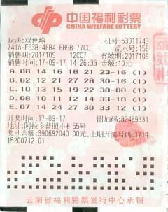 卖菜大姐10元单式票中1000万 不清楚红蓝球区别