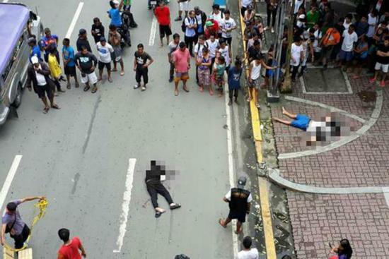 2名中國公民在菲遭槍殺:嫌疑人靠近開槍 作案後逃離