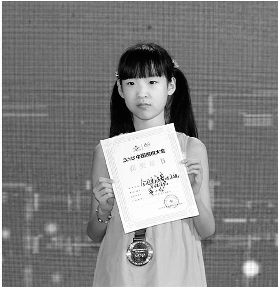 国内最小女子职业围棋手:11岁定段成功