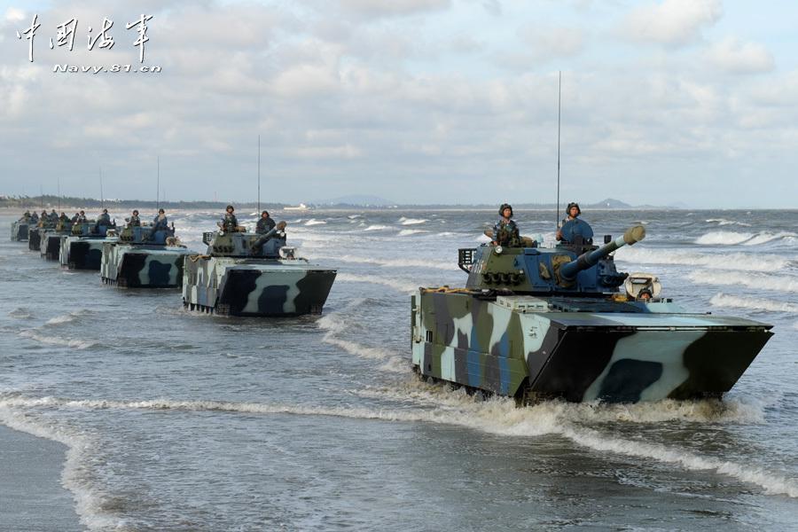 专家:解放军重视两栖战 与一流水平有较大差距