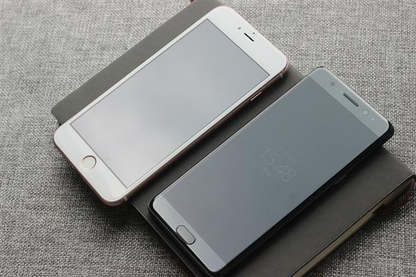 华强北iPhone 7 Plus终极预览机模杀到:对比三星Note 7的照片 - 2