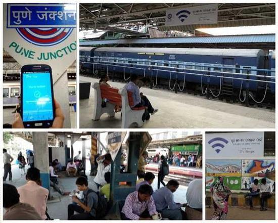 谷歌免费WiFi登印度400座火车站:吸引800万用户