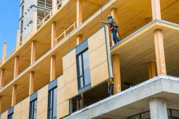 """""""树屋""""设计到80层了 木材也能建摩天楼?的照片 - 3"""