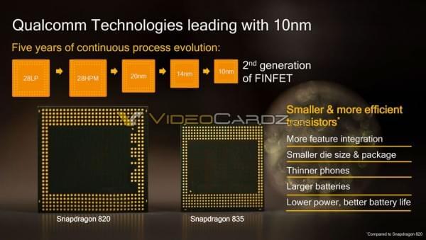 骁龙835处理器规格全面曝光的照片 - 2