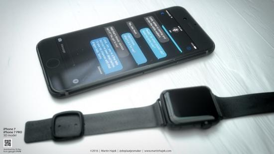 无耳机端口和电容Home按键的iPhone 7或许长这样的照片 - 6