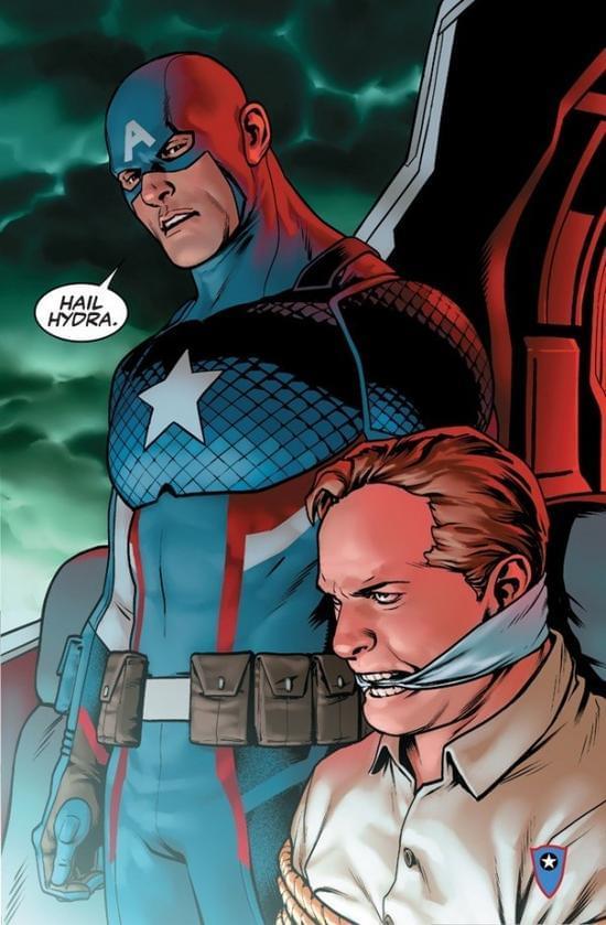 漫威推翻美国队长系九头蛇成员一说:都是红骷髅的阴谋的照片 - 2