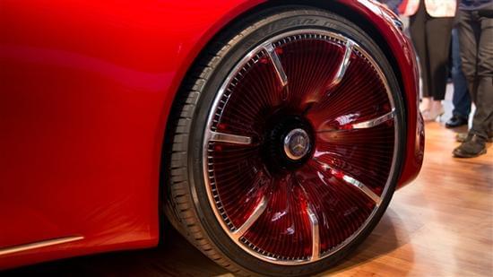 迈巴赫轿跑概念车 – Mercedes-Maybach 6实拍的照片 - 10