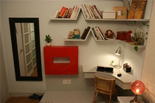 50㎡婚房,简约婚房,硬装修,电器家具软装,客厅收纳柜,装修费用,青岛婚房设计