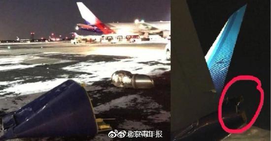 北京时间1月6日,南航cz300航班(纽约-广州,机型b777-300er,飞机号b7
