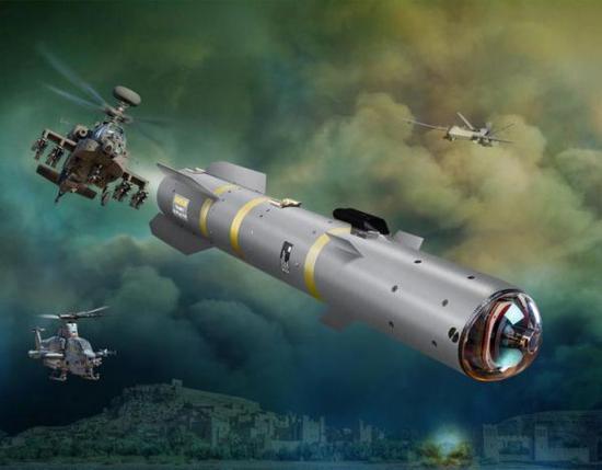 """资料图片:美军""""联合空地导弹""""宣传图片。(图片来源于网络)"""