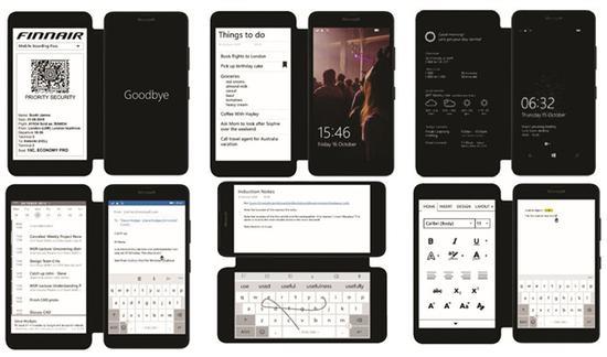 微软公布双屏原型机:Lumia640+墨水屏手机壳