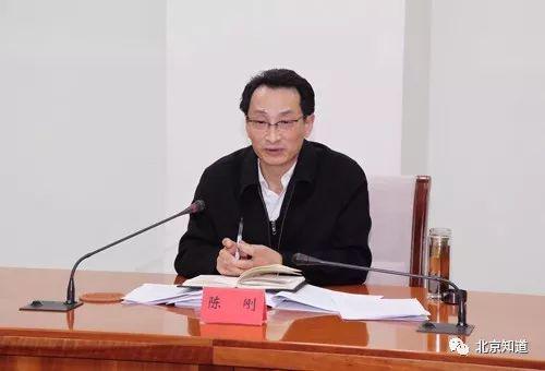 陈刚在会议上讲话。图片来自原南水北调办官网