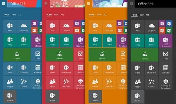 Office 365启用新版App Launcher:可调尺寸、钉选和布局等的照片 - 2