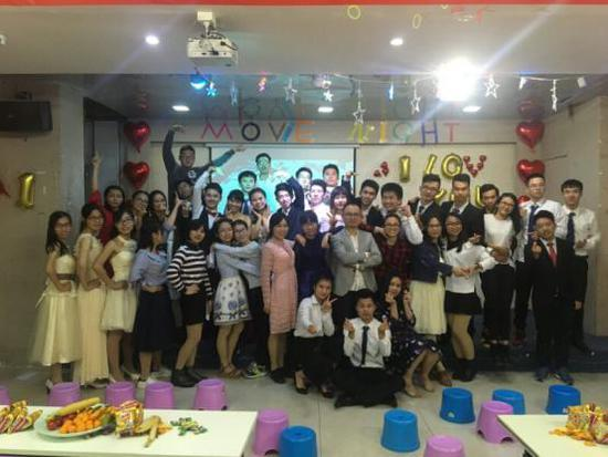 iShow国际英语广州校区Movie Night隆情开幕