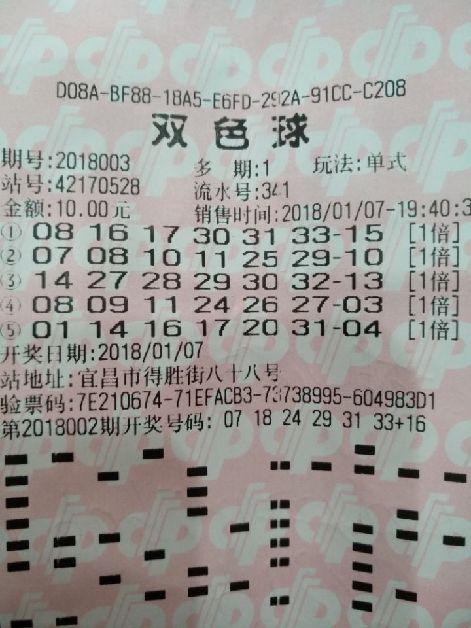 三管齐下投注 男子10元赢双色球千万大奖