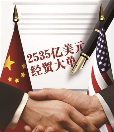 """中美2535亿美元超级大单 多家央企""""唱主角"""""""