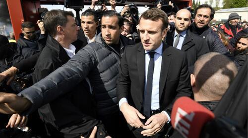 法国打人总统保镖鸣冤:有人试图借机打击马克龙